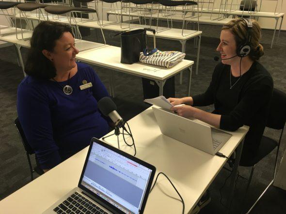 Interviewing Tina Clark